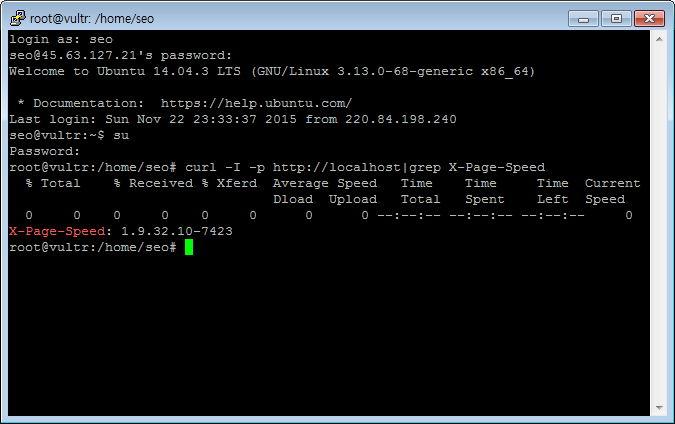 엔진엑스 Nginx pagespeed module Nginx